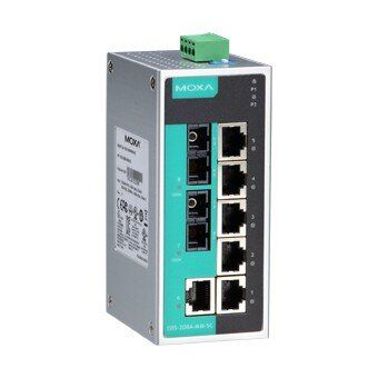 Сетевое / IP оборудование. Коммутатор MOXA EDS-208A