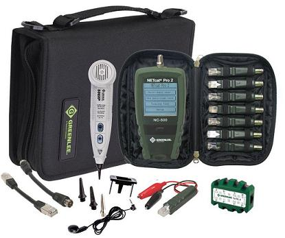 Greenlee NetPro KIT набор для тестирования сети